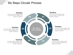 Six Steps Circular Process Ppt Powerpoint Presentation Portfolio