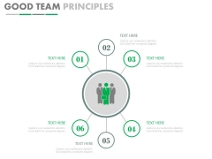 Six Steps For Team Planning Powerpoint Slides