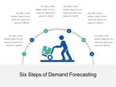 Six Steps Of Demand Forecasting Ppt PowerPoint Presentation File Structure PDF