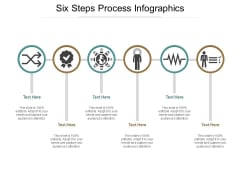 Six Steps Process Infographics Ppt Powerpoint Presentation Gallery Graphics