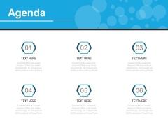 Six Steps To Prepare An Agenda Powerpoint Slides