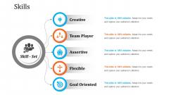 Skills Free PowerPoint Slide