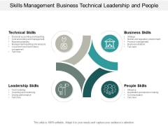 Skills Management Business Technical Leadership And People Ppt PowerPoint Presentation Show Graphics Pictures