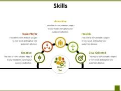Skills Ppt PowerPoint Presentation Icon Grid