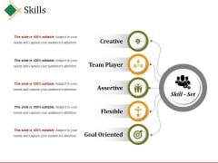 Skills Ppt PowerPoint Presentation Icon Visuals