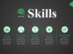 Skills Ppt PowerPoint Presentation Infographic Template Icons