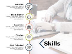 Skills Ppt PowerPoint Presentation Model Infographic Template