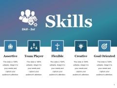 Skills Ppt PowerPoint Presentation Portfolio Icons