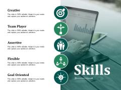 Skills Ppt PowerPoint Presentation Styles Influencers