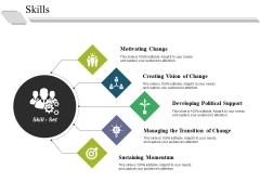 Skills Ppt PowerPoint Presentation Summary Clipart
