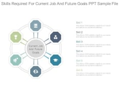 Skills Required For Current Job And Future Goals Ppt Sample File