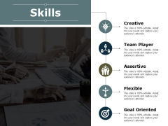 Skills Team Player Ppt PowerPoint Presentation Pictures Graphics Design