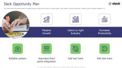 Slack Investor Pitch Deck Slack Opportunity Plan Ppt Summary Graphics Download PDF