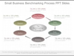 Small Business Benchmarking Process Ppt Slides