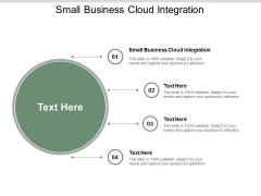 Small Business Cloud Integration Ppt PowerPoint Presentation Gallery Design Ideas Cpb