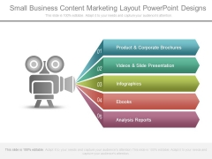 Small Business Content Marketing Layout Powerpoint Designs