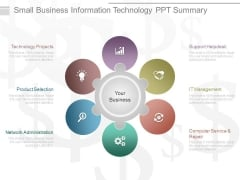 Small Business Information Technology Ppt Summary