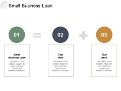 Small Business Loan Ppt PowerPoint Presentation Infographic Template Design Inspiration Cpb