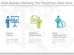 Small Business Marketing Plan Powerpoint Slides Show