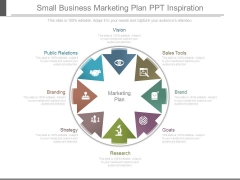 Small Business Marketing Plan Ppt Inspiration