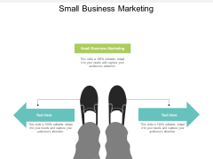 Small Business Marketing Ppt PowerPoint Presentation Visual Aids Inspiration Cpb