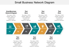 Small Business Network Diagram Ppt PowerPoint Presentation Infographics Design Ideas Cpb