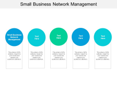 Small Business Network Management Ppt PowerPoint Presentation Pictures Microsoft Cpb