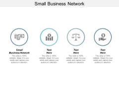 Small Business Network Ppt PowerPoint Presentation Outline Influencers Cpb