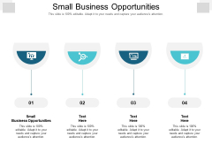 Small Business Opportunities Ppt PowerPoint Presentation Summary Cpb Pdf