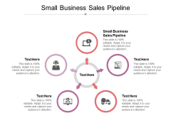 Small Business Sales Pipeline Ppt PowerPoint Presentation Summary Maker Cpb