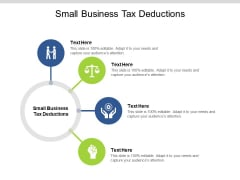 Small Business Tax Deductions Ppt PowerPoint Presentation Gallery Graphics Download Cpb Pdf
