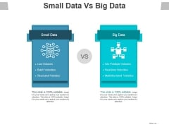 Small Data Vs Big Data Ppt PowerPoint Presentation Icon Model