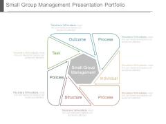 Small Group Management Presentation Portfolio