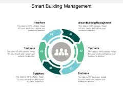 Smart Building Management Ppt PowerPoint Presentation Gallery Outline Cpb