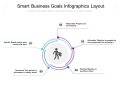 Smart Business Goals Infographics Layout Ppt PowerPoint Presentation Portfolio Microsoft