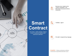 Smart Contract Business Ppt Powerpoint Presentation Ideas Rules