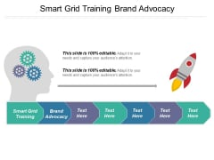 Smart Grid Training Brand Advocacy Ppt PowerPoint Presentation Layouts Deck