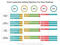 Smart Leadership Building Objectives Five Years Roadmap Microsoft