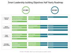 Smart Leadership Building Objectives Half Yearly Roadmap Download