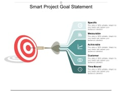 Smart Project Goal Statement Ppt PowerPoint Presentation Ideas Tips