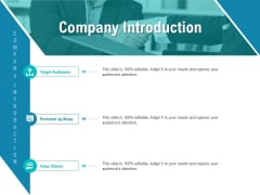 Smart Software Pricing Strategies Company Introduction Ppt Ideas Introduction PDF