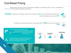 Smart Software Pricing Strategies Cost Based Pricing Ppt Layouts Structure PDF