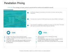 Smart Software Pricing Strategies Penetration Pricing Ppt Model Professional PDF