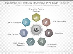 Smartphone Platform Roadmap Ppt Slide Themes