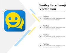 Smiley Face Emoji Vector Icon Ppt PowerPoint Presentation Gallery Graphics Tutorials PDF