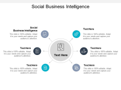 Social Business Intelligence Ppt PowerPoint Presentation Professional Brochure Cpb