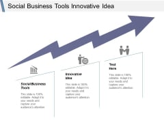 Social Business Tools Innovative Idea Ppt PowerPoint Presentation Gallery Microsoft