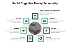 Social Cognitive Theory Personality Ppt PowerPoint Presentation Icon Example Introduction Cpb Pdf