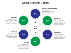 Social Cultural Capital Ppt PowerPoint Presentation Professional Layout Cpb
