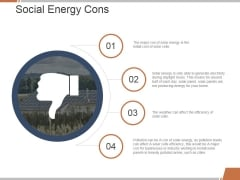 Social Energy Cons Ppt PowerPoint Presentation Model Summary